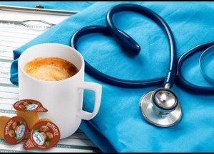 Coffee Mug and Nursing Tools